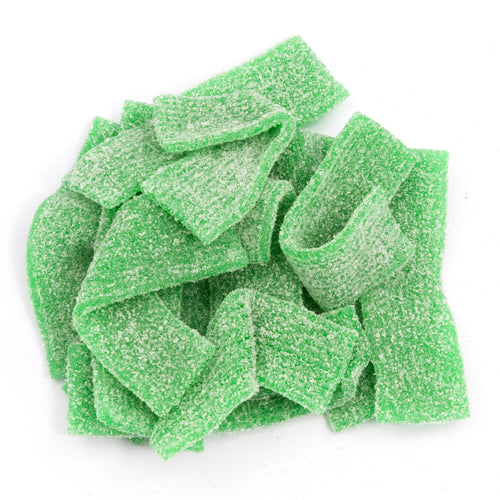 Green Apple Sour Belts (1 lb.) - Sparko Sweets