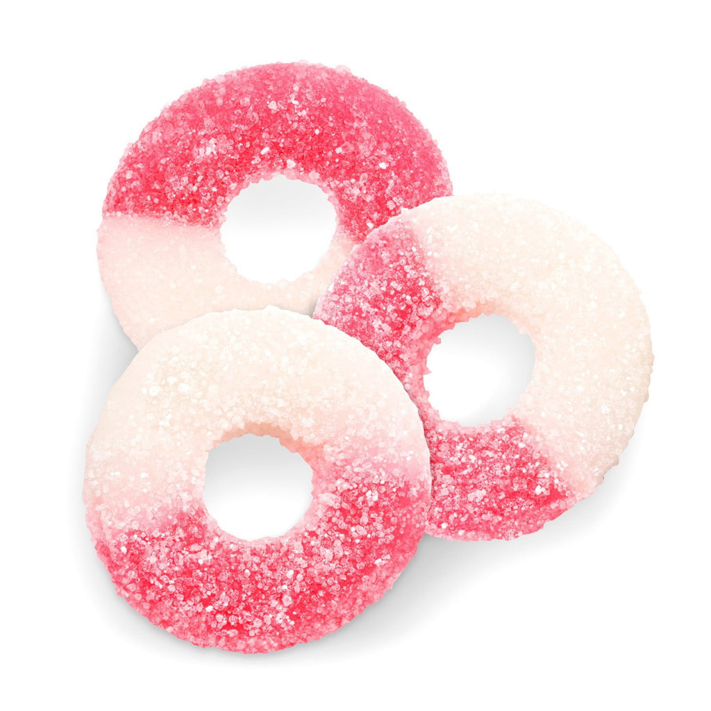 Juicy Watermelon Gummi Rings (1 lb.) - Sparko Sweets