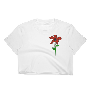 Rose Demogorgon Women's Crop Top - Show Palace