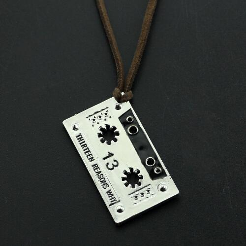13 Reasons Why Necklace - Show Palace