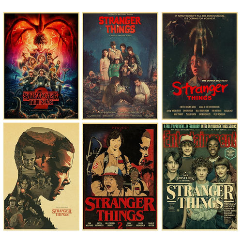 Stranger Things Retro Posters - Show Palace