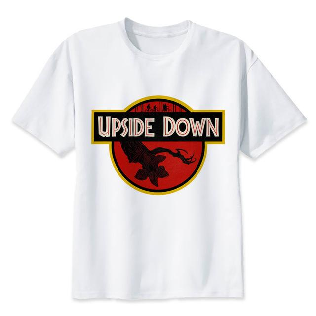 Upside Down Jurassic Park Badge - Show Palace