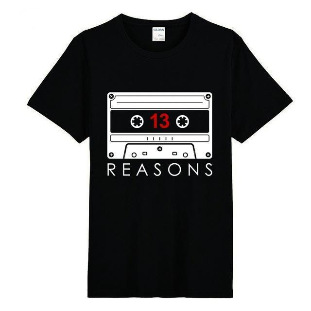 13 Reasons Why Tape Recording v2 Shirt - Show Palace