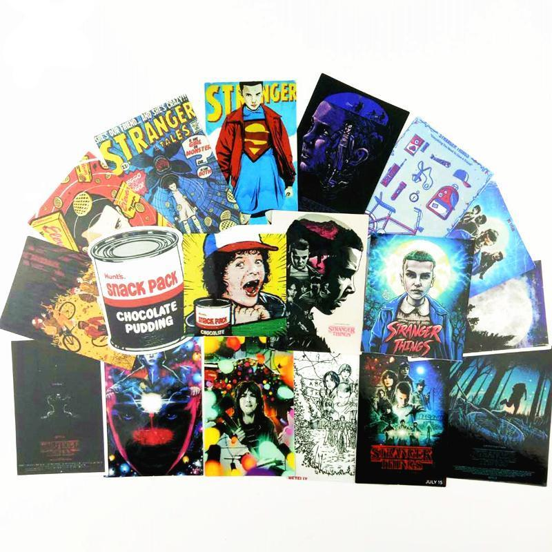 Stranger Things Stickers 18 Pack - Show Palace