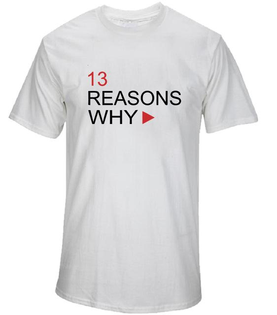 13 Reasons Why Characters Shirt - Show Palace