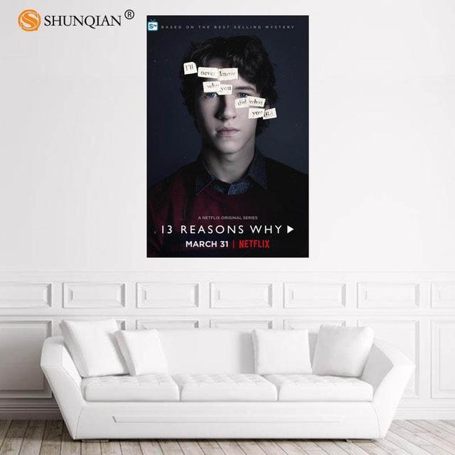 13 Reasons Why Posters - Show Palace