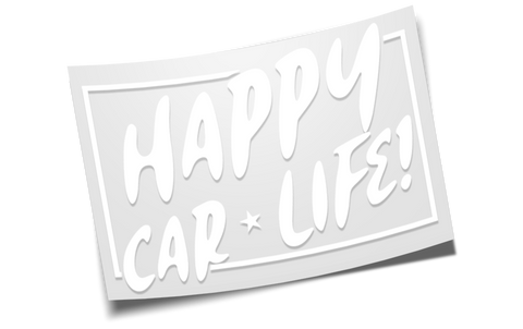 happy car life! diecut