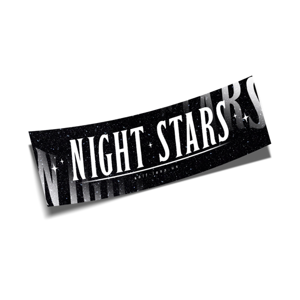 night stars slap black