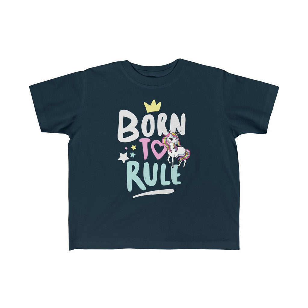 Born to Rule Unicorn Kids Tee