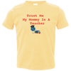 Mommy is a Teacher Toddler T Shirt