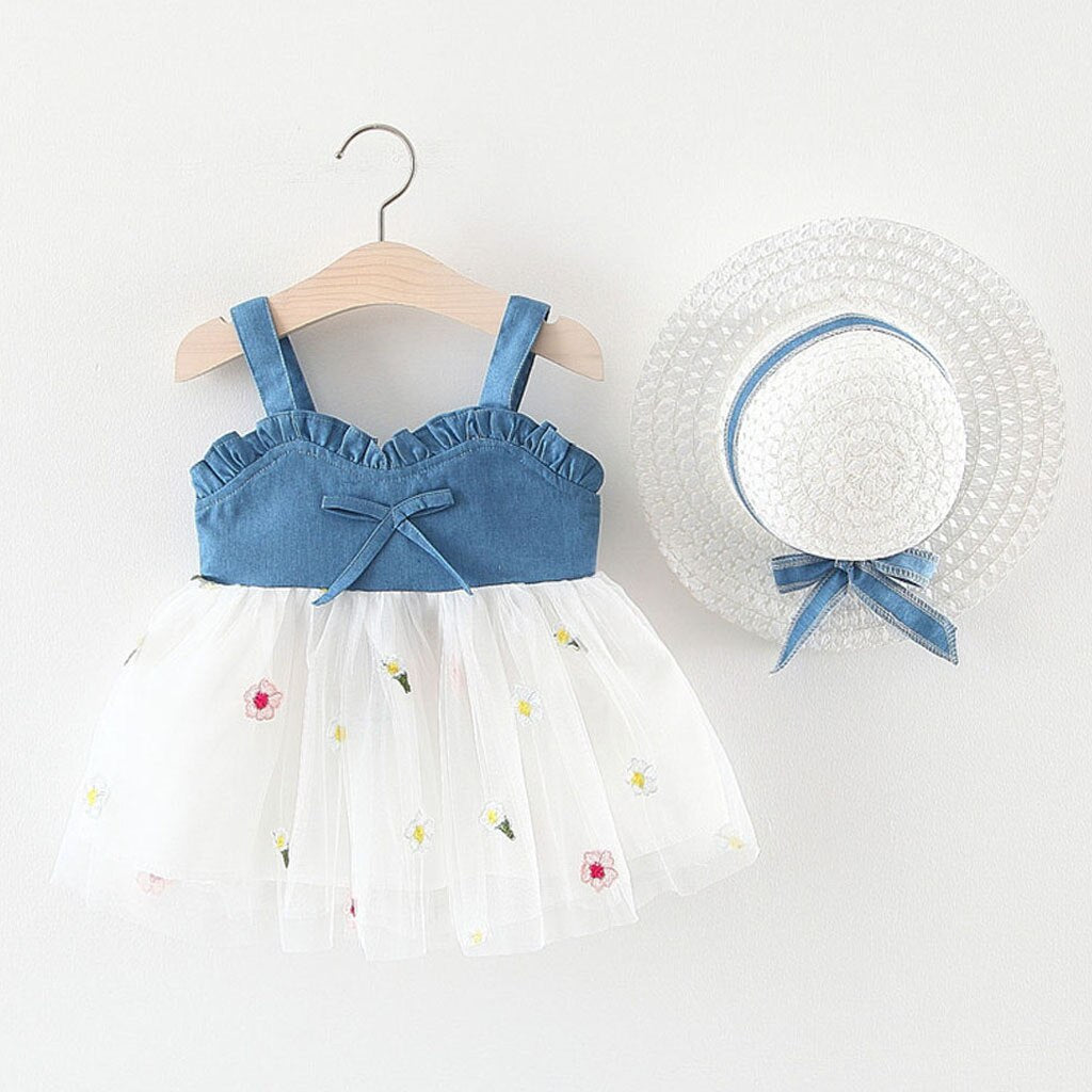 Denim Top Summer Dress