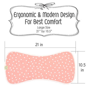 Baby Burp Cloths (Pink Dreams)