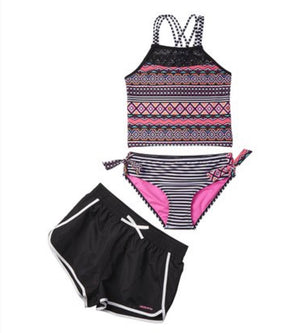 Geometric Tankini Set