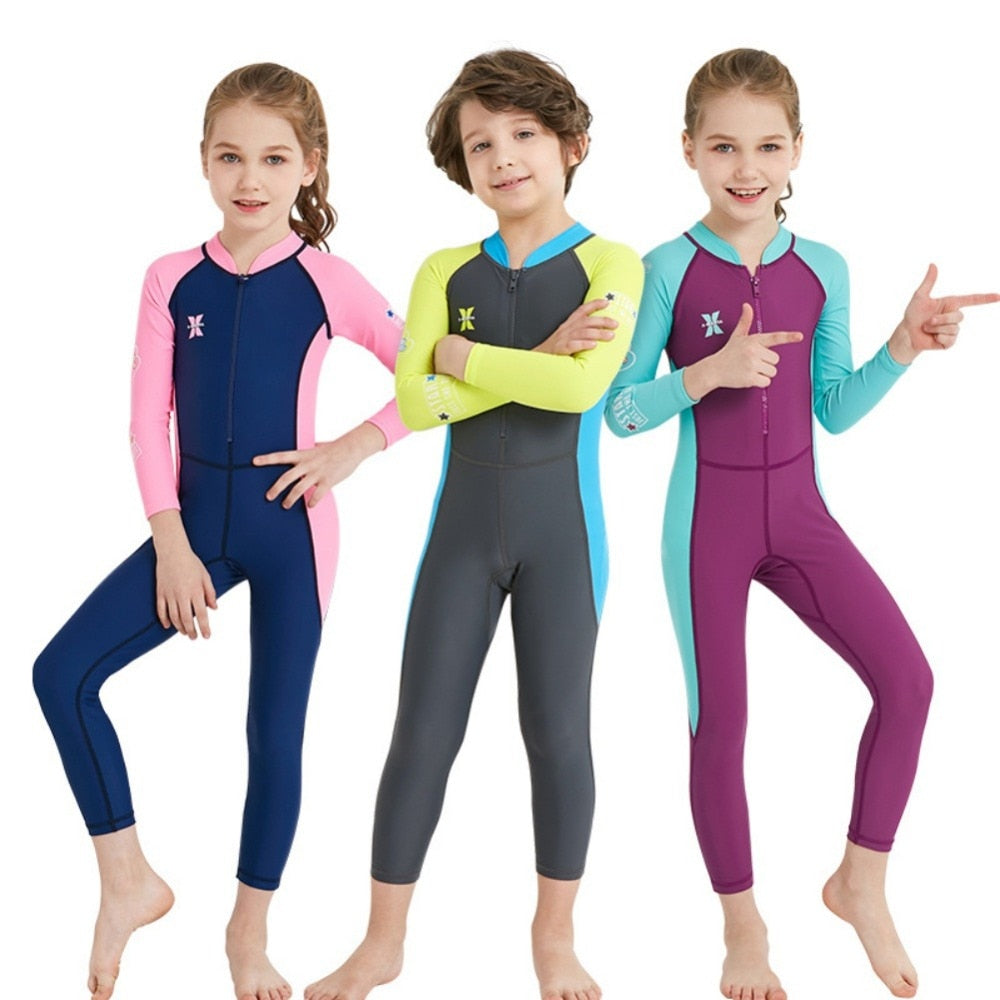 One-Piece Kids Diving Suit