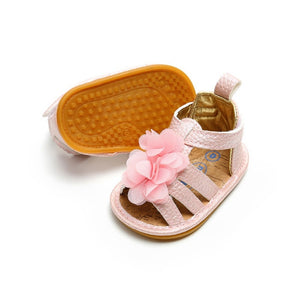 Flower Leather Princess Shoes