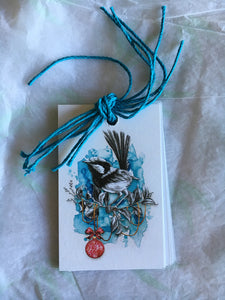 Dance of the Fairywrens Gift Tags 6 pk
