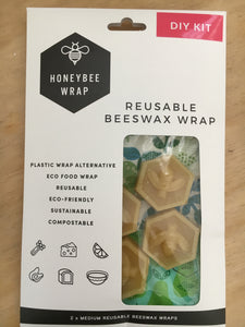 Reusable Beeswax Wrap - DIY Kit
