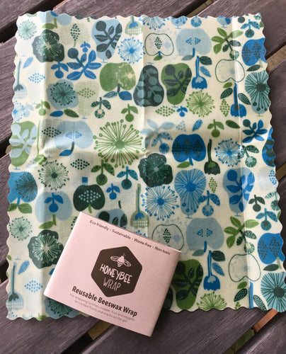 Reusable Beeswax Wrap - Medium