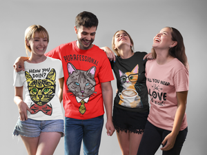 Coolest cat themed merchandise for every cat lover in the world.