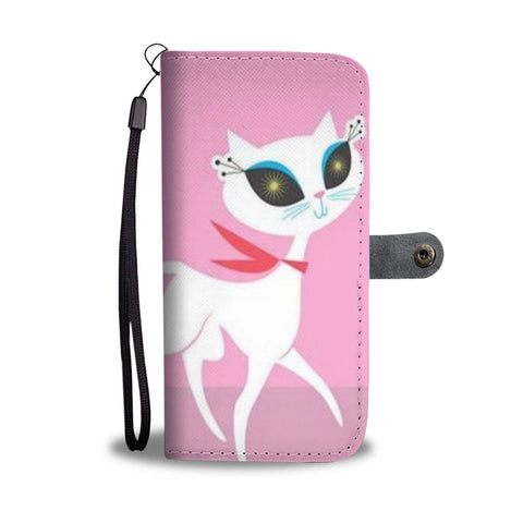 French Cat Wallet Case - TheCatsPlaceStore