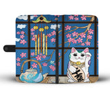 Maneki-neko Cat Wallet Case - TheCatsPlaceStore