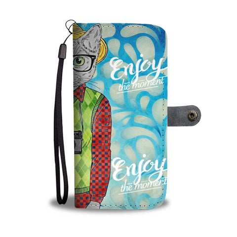 Enjoy the moment Wallet Case - TheCatsPlaceStore