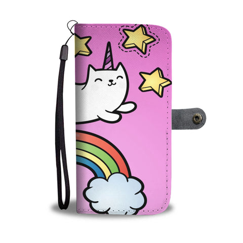 Fairy tale Cat Wallet Case - TheCatsPlaceStore