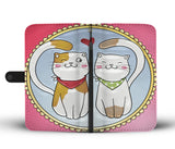 Cats In Love Wallet Case - TheCatsPlaceStore