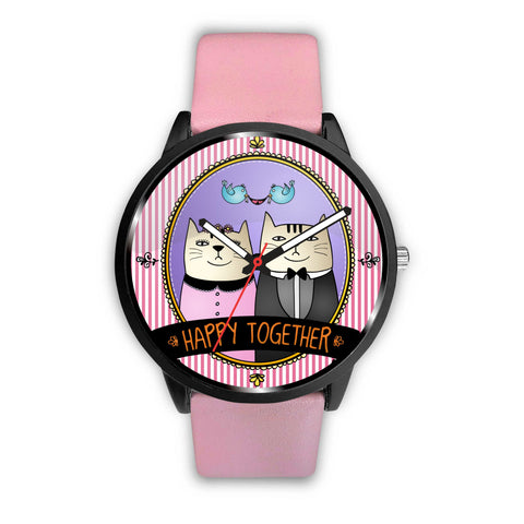 Awesome HAPPY TOGETHER cat watch 😻🕧 - TheCatsPlaceStore