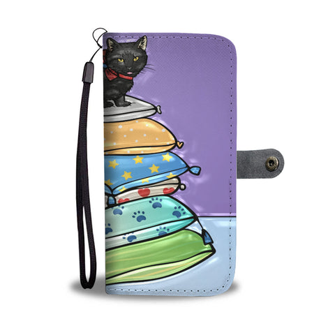 Cool resting cat wallet case ?? - TheCatsPlaceStore