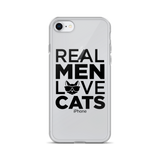 Real Men Love Cats iPhone Case - TheCatsPlaceStore