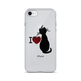 I LOVE CATS iPhone Case - TheCatsPlaceStore