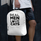 Real Men Love Cats Backpack