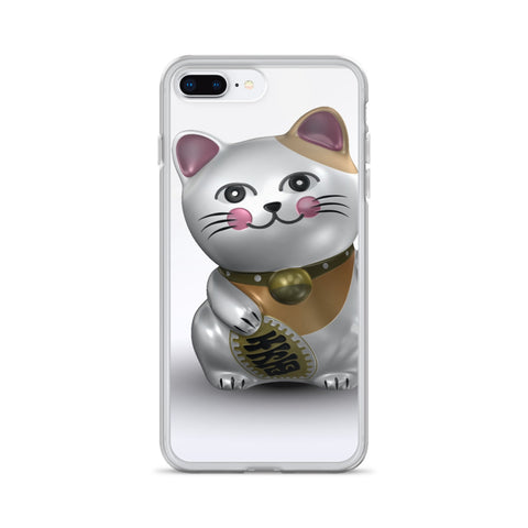 Maneki-neko Cat iPhone Case - TheCatsPlaceStore