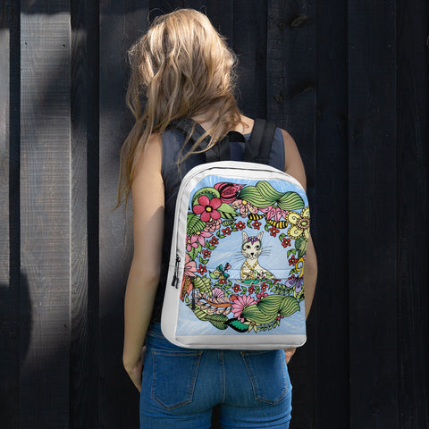 Cat&Flowers Backpack