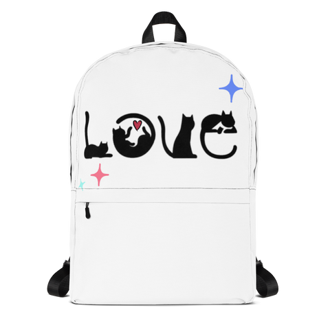 Cat Lover Backpack - TheCatsPlaceStore