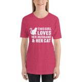 This Girl Loves Her Husband & Her Cat