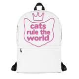 Cats Rule The World Backpack - TheCatsPlaceStore