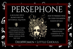 Persephone - Equinox/Mabon Traditional mulling blend