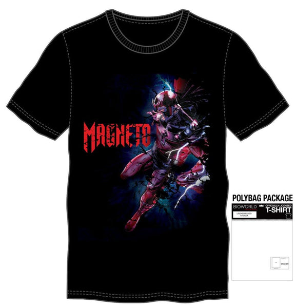 Marvel Comics Magneto Men's Black T-Shirt - Nerd Gear Lab