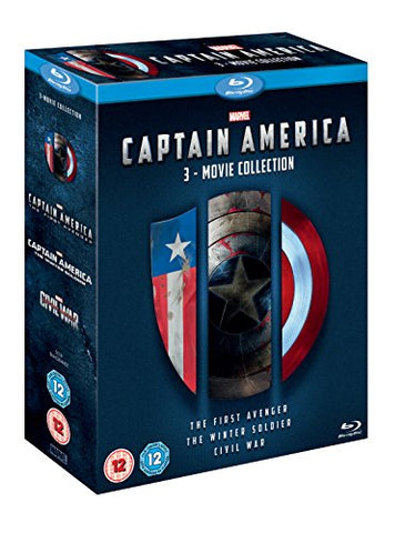 Captain America 3 Movie Collection - Nerd Gear Lab
