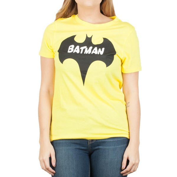 DC Comics Batman Bat Yellow T-Shirt - Nerd Gear Lab