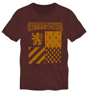 Harry Potter Gryffindor Element of Fire Men's Burgundy T-Shirt - Nerd Gear Lab
