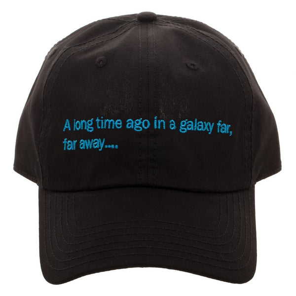 Star Wars A Long Time Ago, In A Galaxy Far, Far Away Hat-Nerd Gear Lab