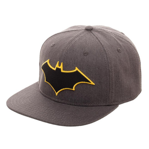 Embroidered Batman Logo Flatbill Flex Cap - Nerd Gear Lab
