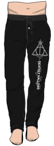 Harry Potter Deathy Hallows Lounge Pants - Nerd Gear Lab