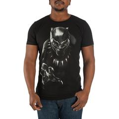 Black Panther Character T-shirt - Nerd Gear Lab