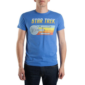 Star Trek USS Enterprise Flying T-Shirt-Nerd Gear Lab