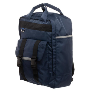 Men's Square Backpack  Grey Built Up Backpack for Men - Nerd Gear Lab