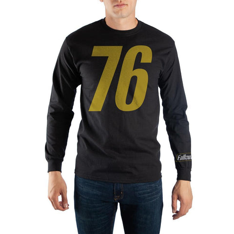 Fallout 76 Men's Long Sleeve Shirt - Nerd Gear Lab